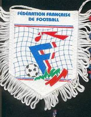 FRANCE FOOTBALL FEDERATION SMALL PENNANT #3 EURO 2016