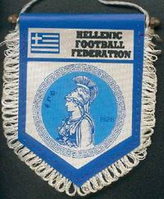 GREECE FOOTBALL FEDERATION SMALL PENNANT #4