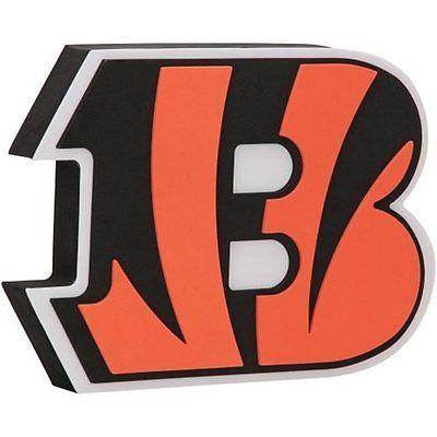 "NFL FH2127 Cincinnati Bengals Fan 3D Foam Logo Sign - Approximately 18"""