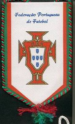 PORTUGAL FOOTBALL FEDERATION OLD LOGO SMALL PENNANT #2 EURO 2016