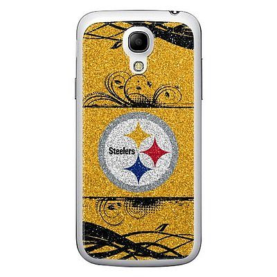 NFL BAG4NF24 Pittsburgh Steelers Samsung Galaxy S4 Cellphone Bling Applique