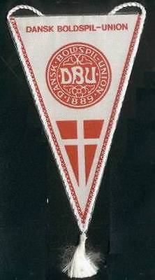 DENMARK FOOTBALL FEDERATION SMALL PENNANT