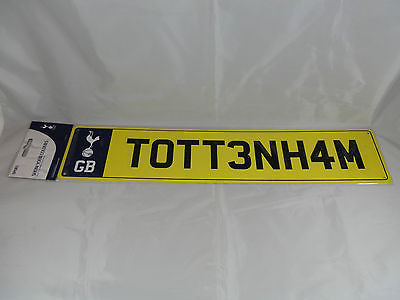 Tottenham Hotspur Fc Decorative Metal License Plate Sign
